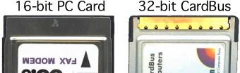 PC Card and CardBus card