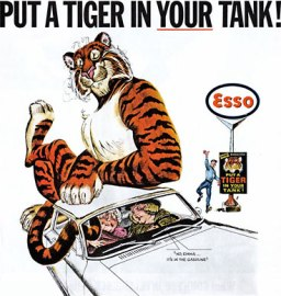 Esso ad: Put a tiger in your tank
