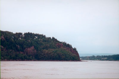 Saquenay River view