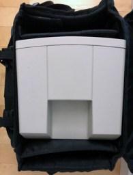 Classic II in computer bag