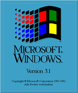 Windows 3.1 startup