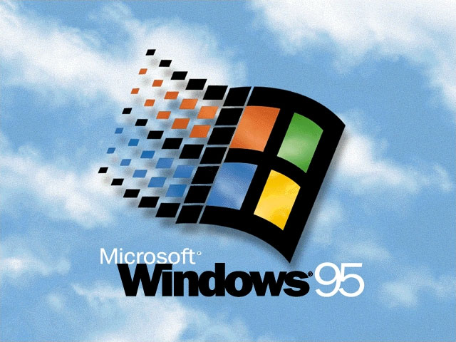 Windows 95 startup screen