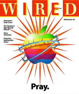 Wired Pray magazine cover, June 1997