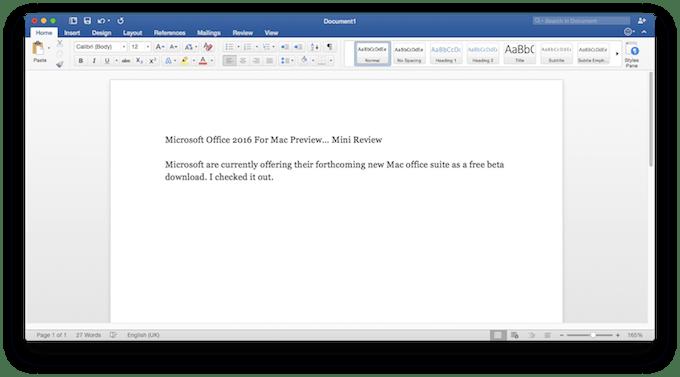Word Download Macbook Air