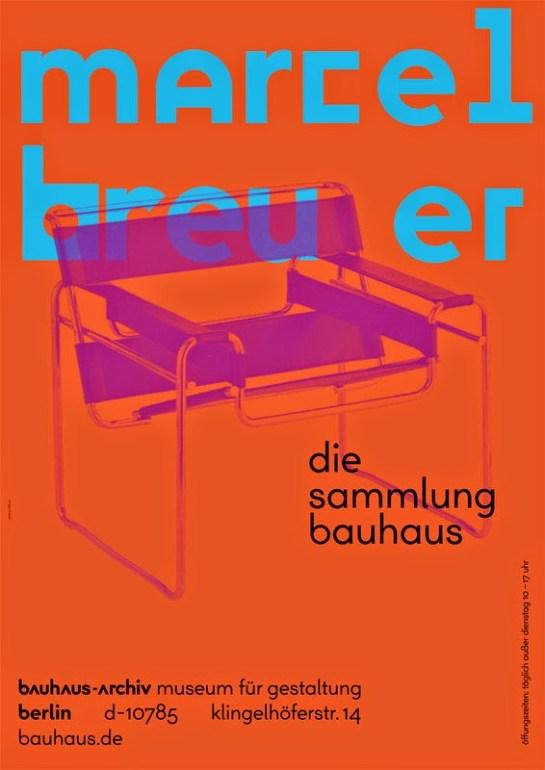 New Bauhaus poster ©Bauhaus-Archiv / Museum für Gestaltung. Design: L2M3