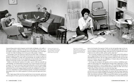 """Pages from """"En lys og lykkelig fremtid. Historien om FDB-møbler""""."""