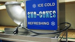 snow-cone machine