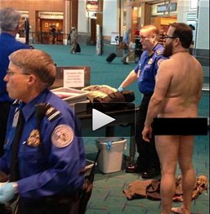 TSA nude protest