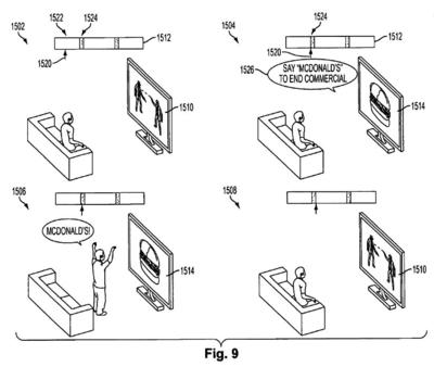 McDonald's Sony Patent