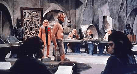 Planet of the Apes courtroom