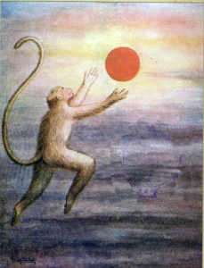 He may have control of his senses but he once mistook the Sun for a fruit.