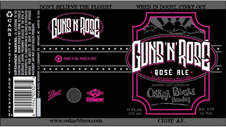 Guns 'n' Rose label