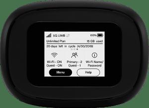 Verizon 5G MiFi® M1000 Hotspot