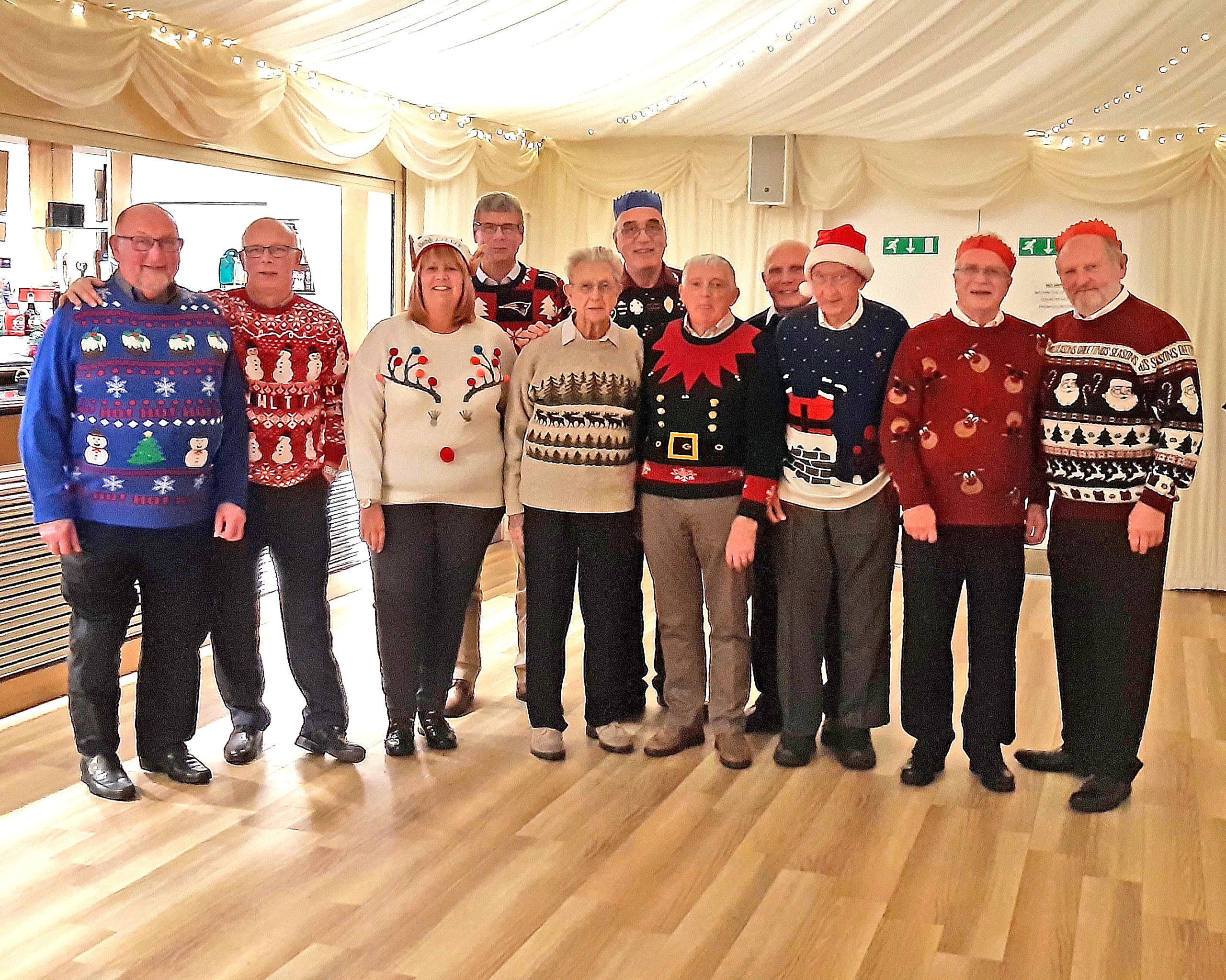 Lowestoft Lions in Party Mood