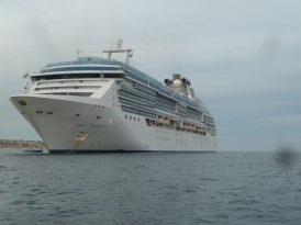 The boat, Coral Princess