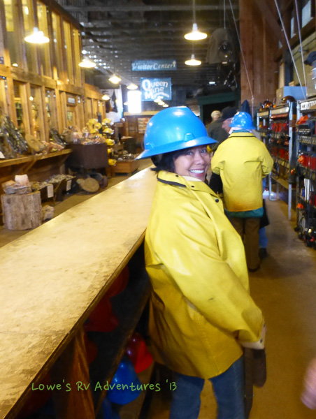 Donning our mining gear