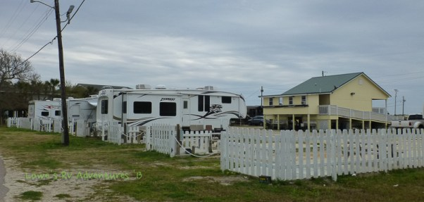 Back of RV Park