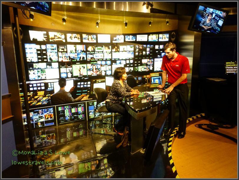 Inside CNN Studio Tour