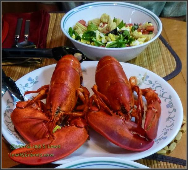 Lobsters for dinner - again?