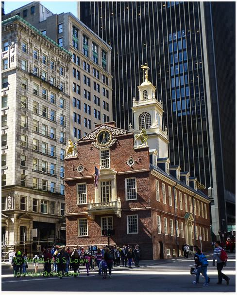 Old State House built in 1713