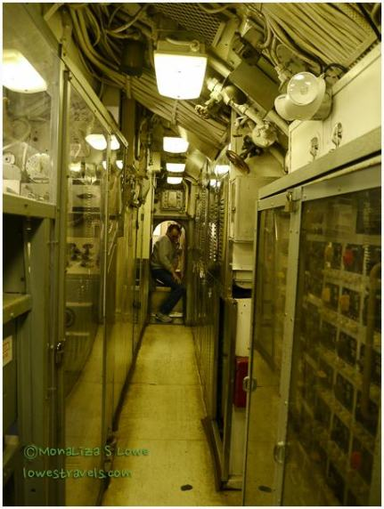 Inside USS CLAMAGORE