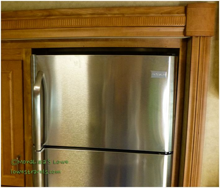 Installing A Residential Refrigerator The Lowe S Rv