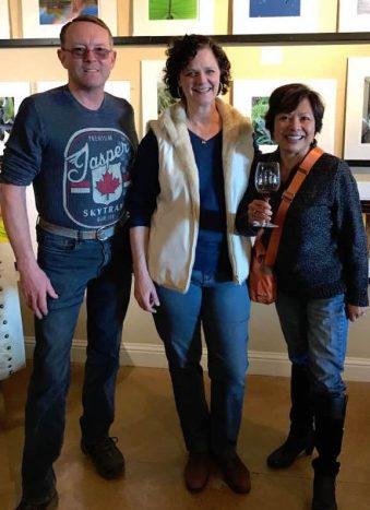 Helen, vintner at D'Art winery