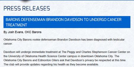 davidson cancer