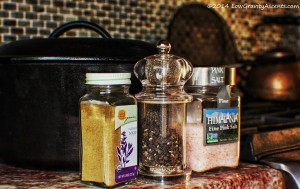 Roasted chicken spices