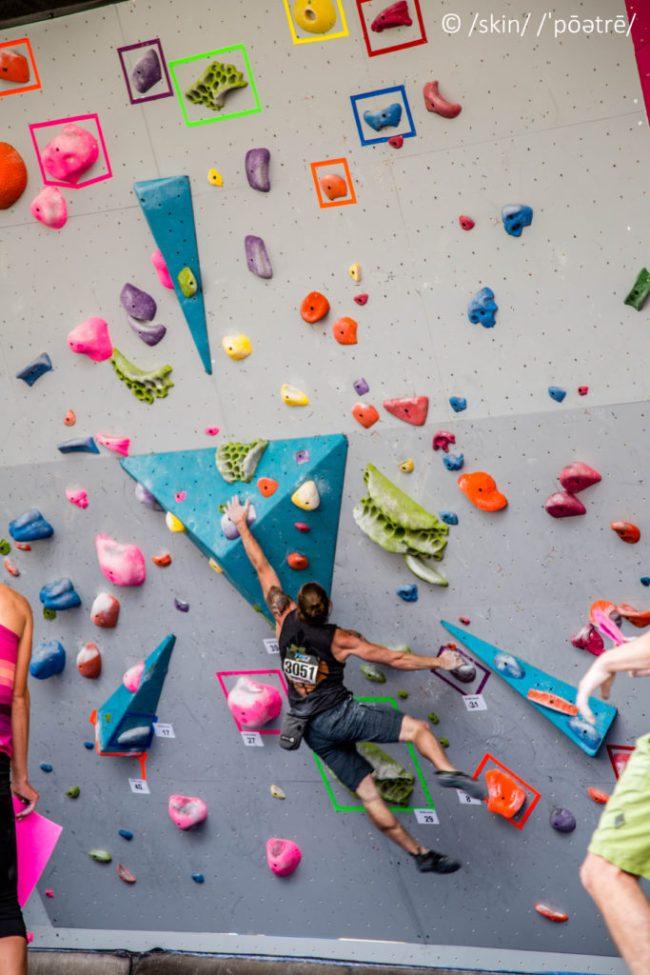 Dave Sandel GoPro Bouldering Dyno