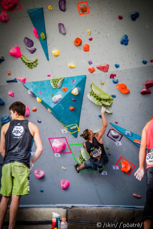 Dave Sandel GoPro Bouldering Competition