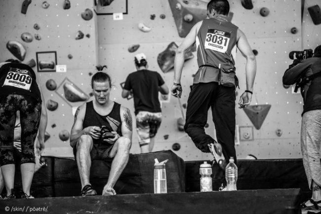 Dave Sandel GoPro Bouldering Comp