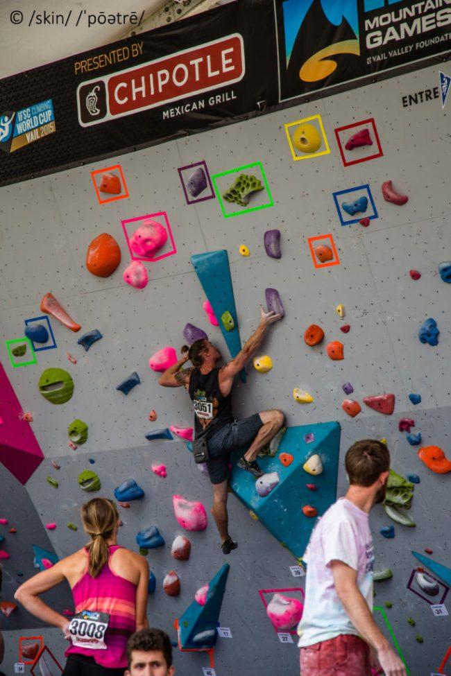Dave Sandel GoPro Bouldering Open