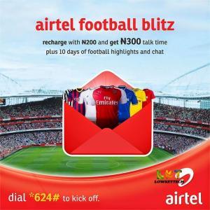 Airtel football blitz