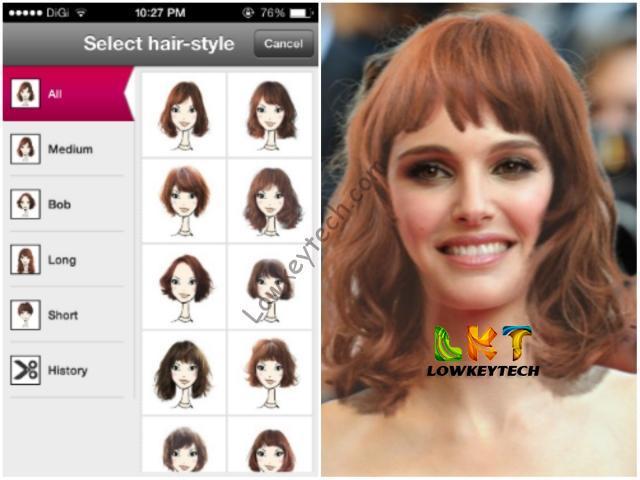Change My Hairstyle App - kitharingtonweb