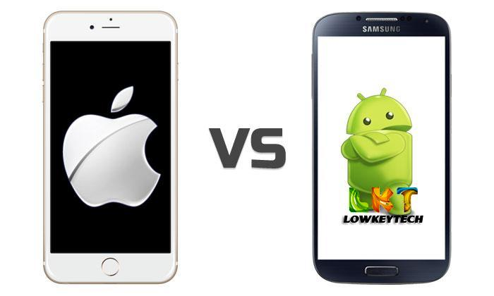 Apple iPhone 6s vs Cherry Mobile One (Android One ...