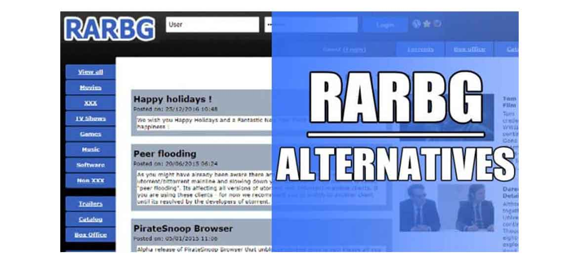 RARBG Alternatives: Top 13 Most Useful Torrent Websites 2019