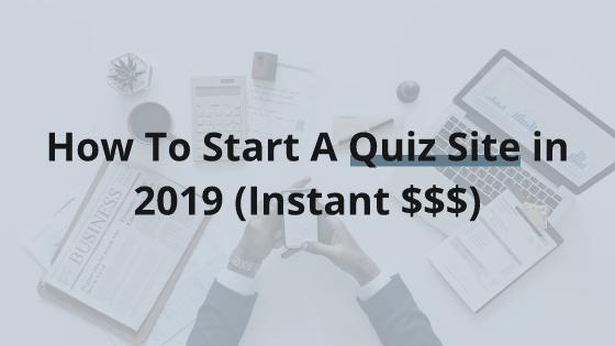 Viral Quiz Site