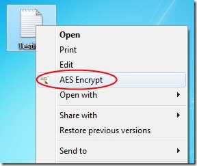 AES Crypt