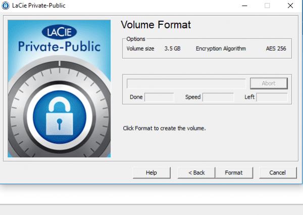 LaCie Private-Public