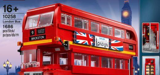10258 LEGO london bus