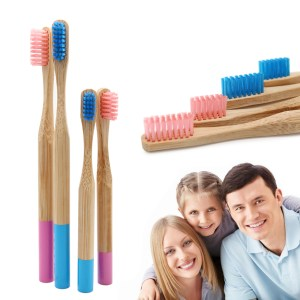 Natural bamboo toothbrush - Low Cost Fast Shipping