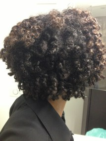 Fluffed out twist out
