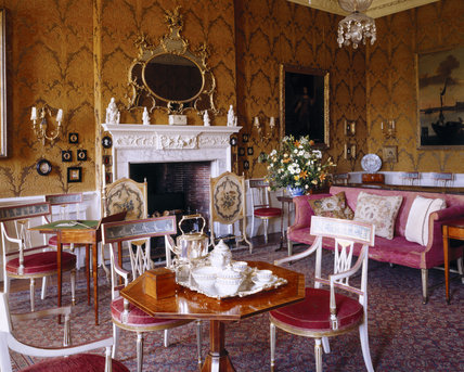 The Opulent Interior Of The Drawing Room With Its 18th