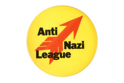 Anti-Nazi League badge: c.1980