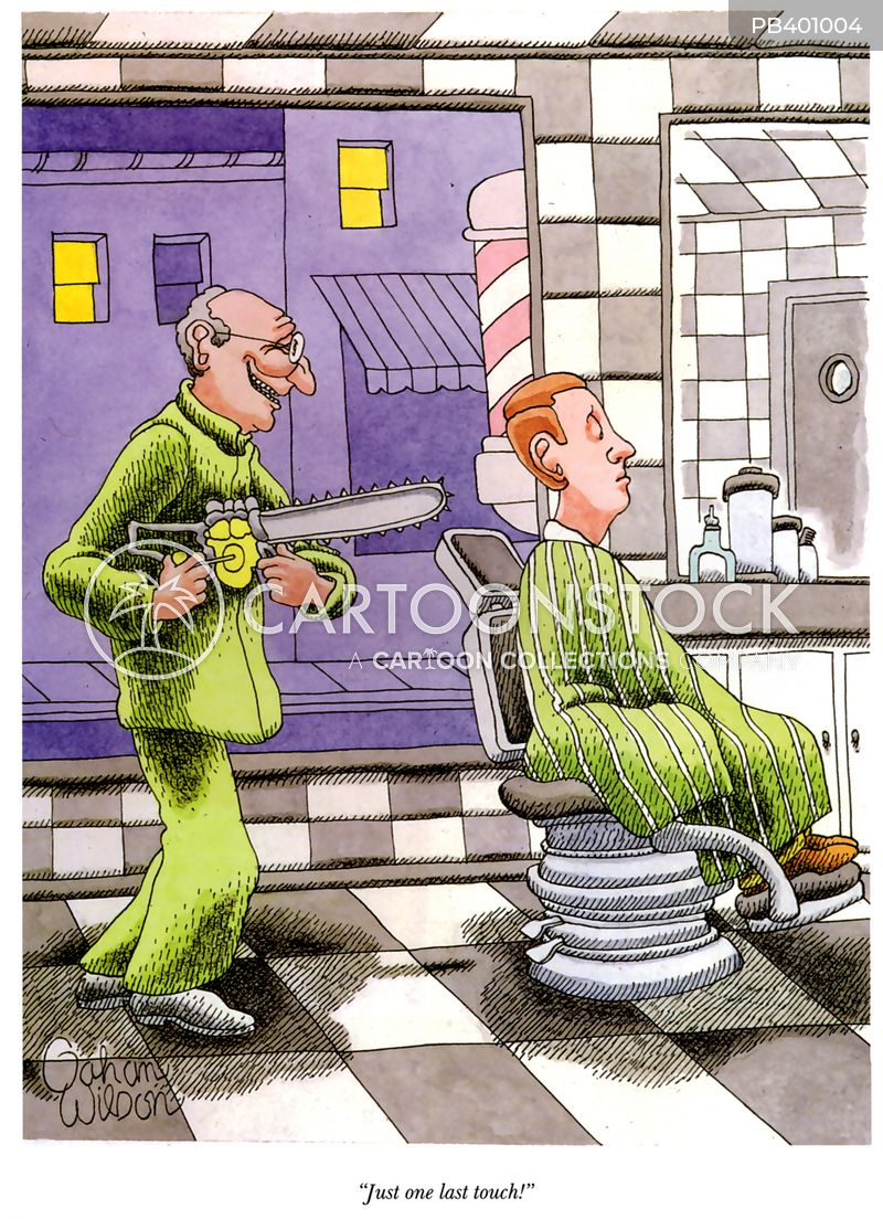 Barber Shop Cartoons And Comics Funny Pictures From Cartoonstock