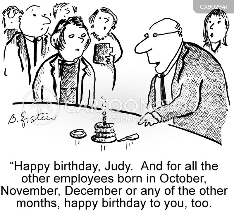 Happy Birthday Cartoons And Comics Funny Pictures From Cartoonstock
