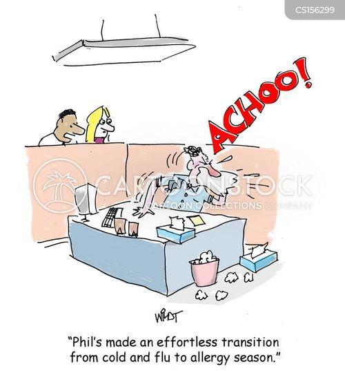 Pollen Allergy cartoons, Pollen Allergy cartoon, funny, Pollen Allergy ...
