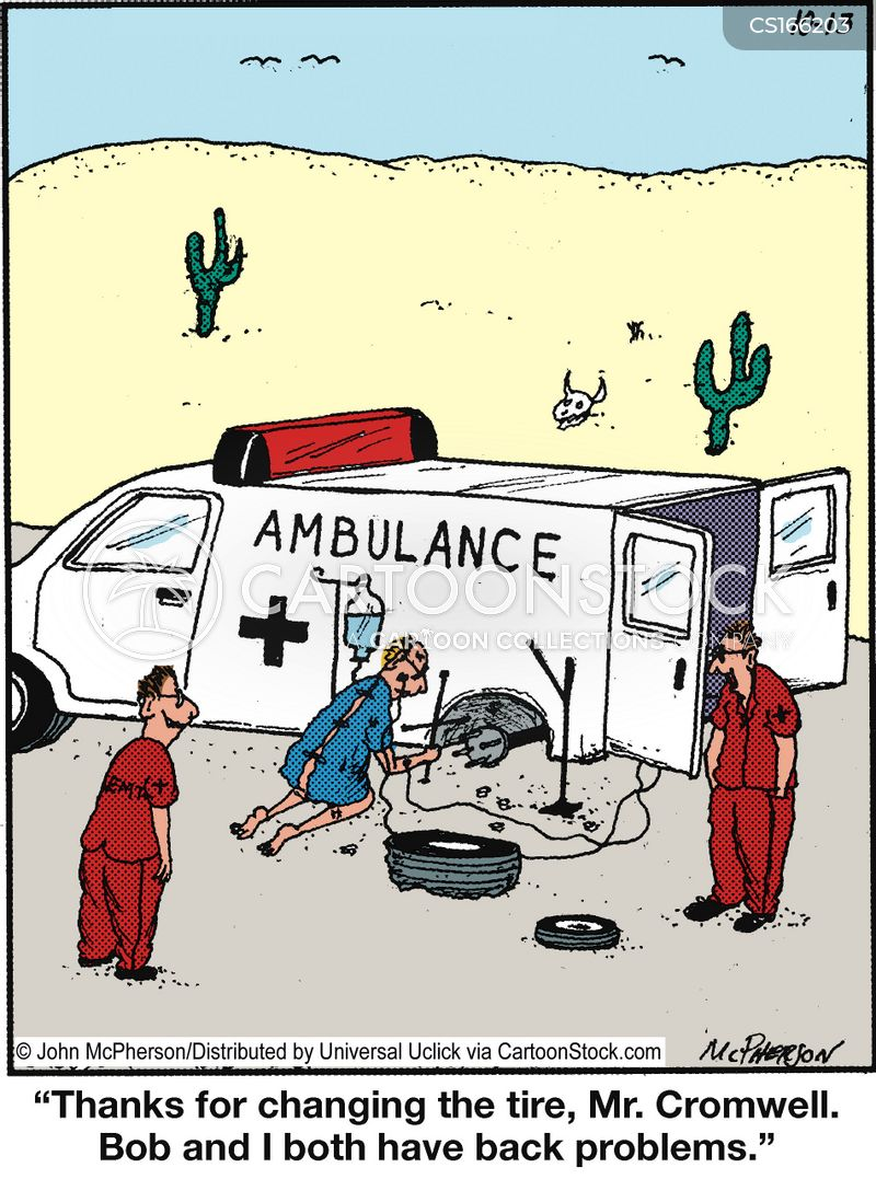 Ambulance Cartoons And Comics Funny Pictures From