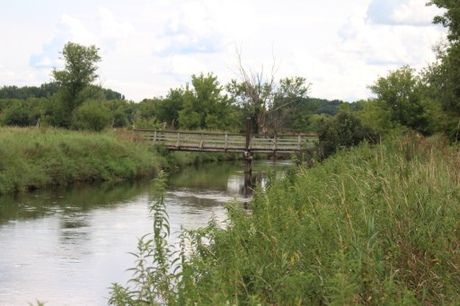 Bridge over the Badfish Creek.